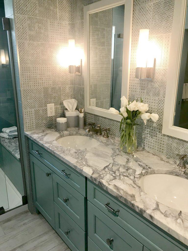 HGTV Dream Home Urban Oasis 2018- home design- Cincinnati- Brian Patrick Flynn- designer- Urban Home- color- decor- Home- giveaway- hgtv-bathroom