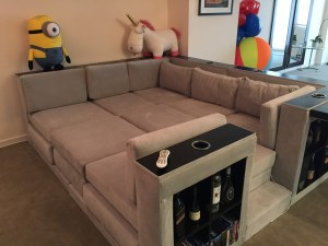 The Super Sofa in all it's glory