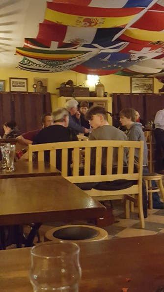 Live Irish Music in the only pub on the Island