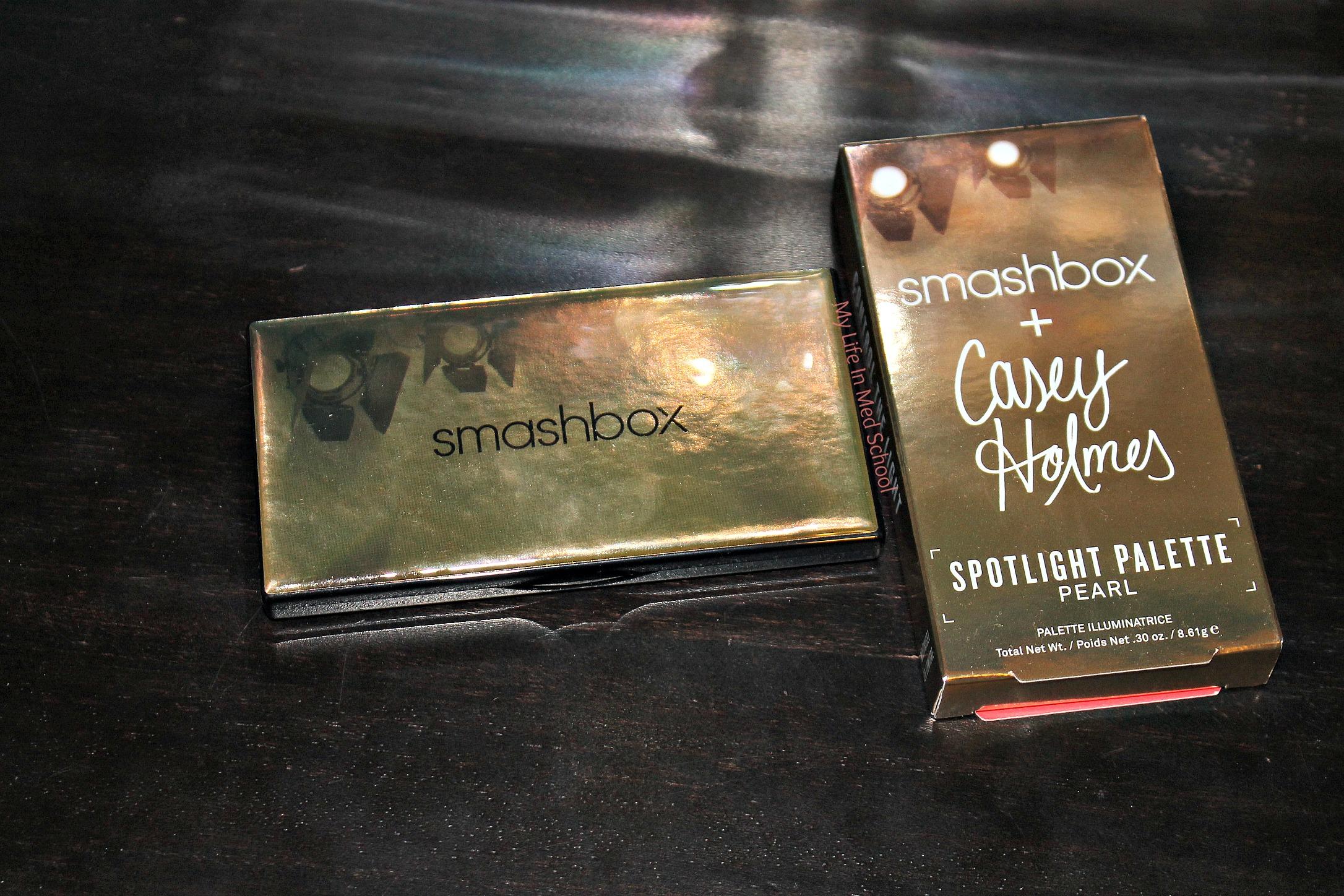 Casey Holmes x Smashbox Spotlight Palette Pearl