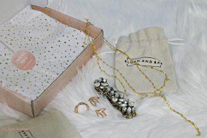 Lariat necklace and Nadia bracelet