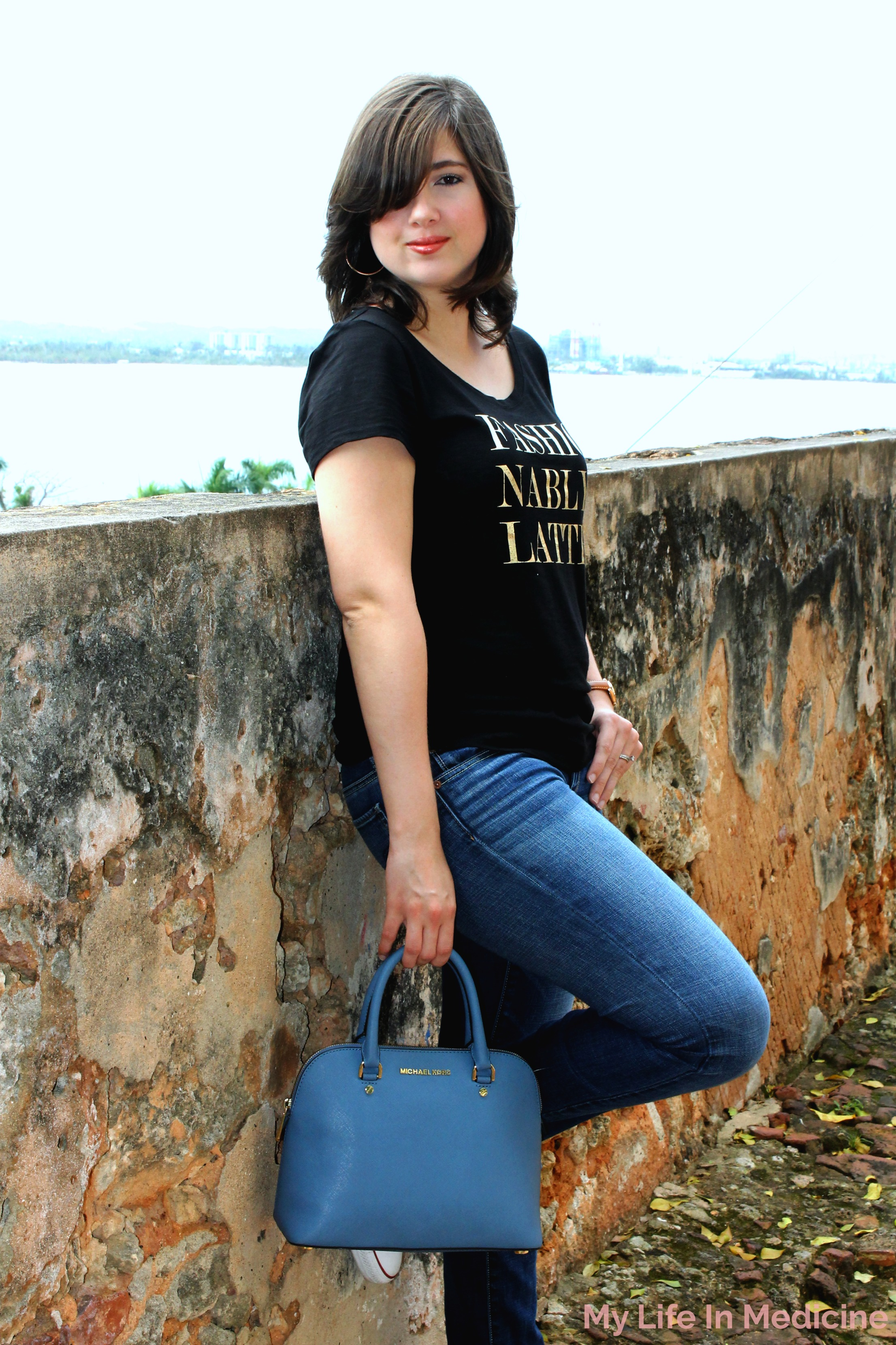 Ceil Blue handbag