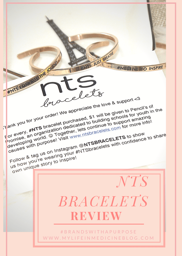 NTS = Note To Self Bracelets Review