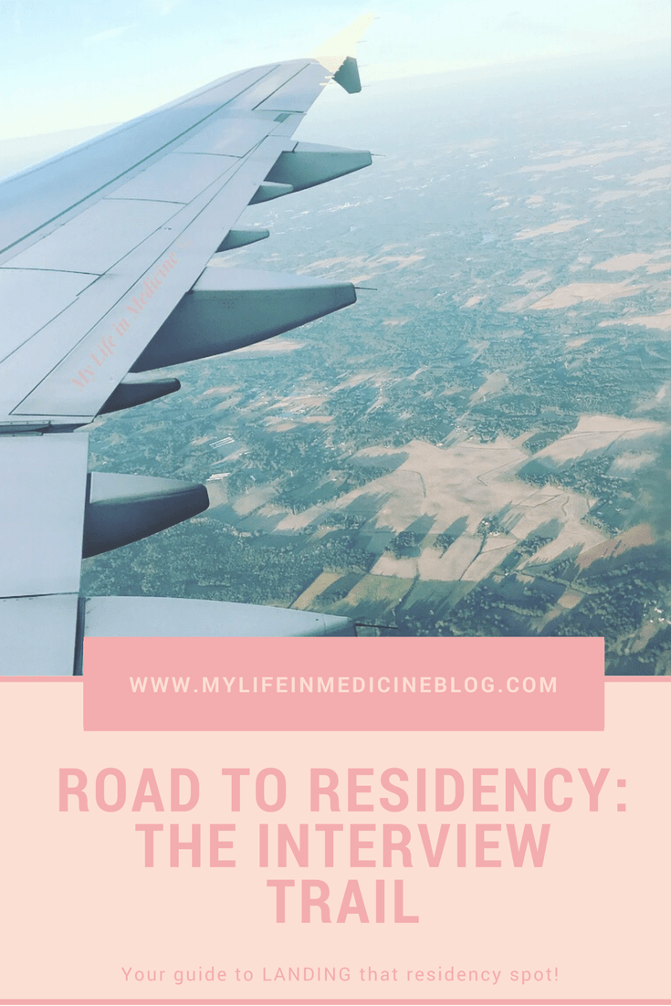 Road to residency interview trail
