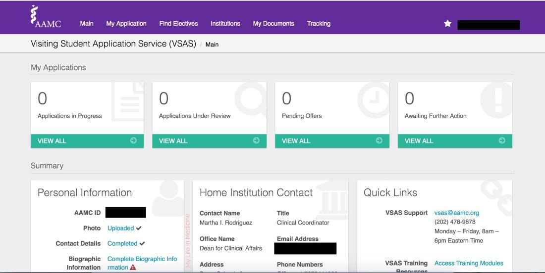 VSAS Homepage