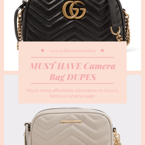 MUST HAVE Camera Bag DUPES