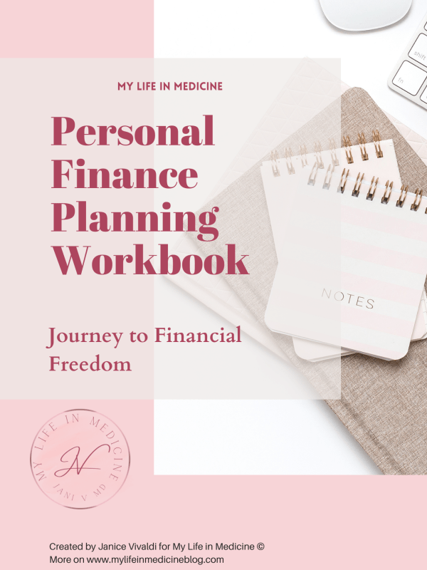 personal finance planning workbook