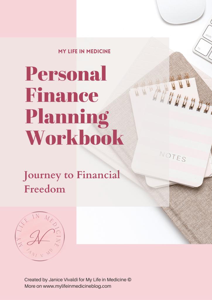 personal finance planning workbook