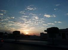 Riyadh dawn, Nov 2012
