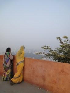Girl in yellow sari, Udaipur, 2013