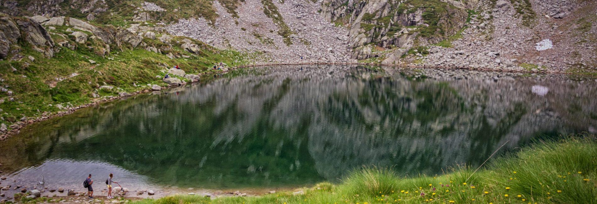 Trekking al Lago del Mucrone e visita al Santuario di Oropa