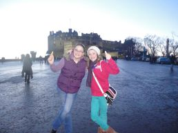 Chums by the Castle new years day