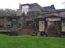Old Academy from Calton Cemetry