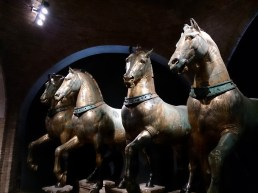 The horses of the Basilica