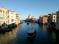looking to the top of the grand canal