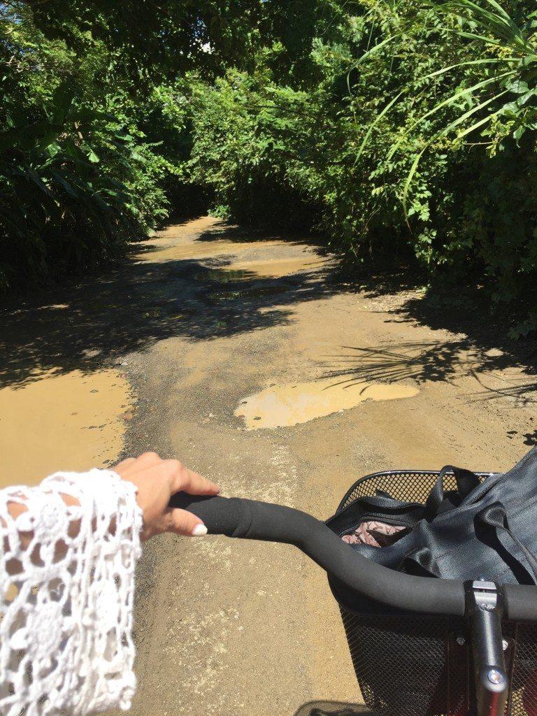 Potholes? Pshhh, pura vida, I'll ride around them