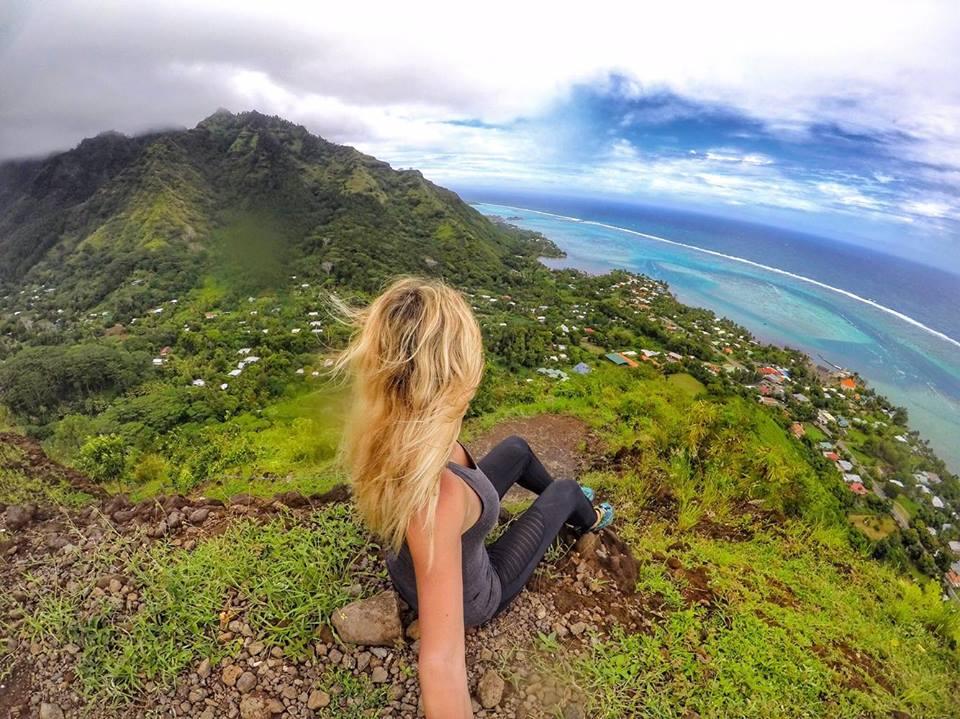 Moorea hike Polinésia Francesa mylifesamovie.com