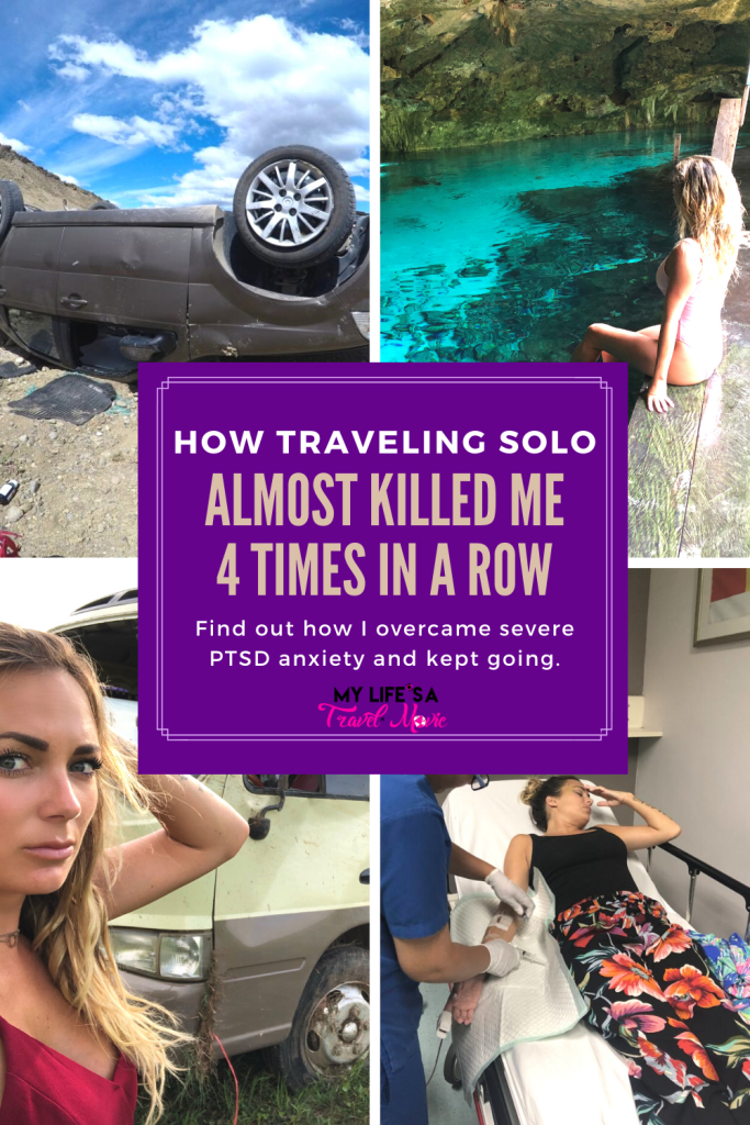 After seven years of traveling solo I suddenly got into four back-to-back, near-death accidents abroad. Here's my story of the trauma, the development of PTSD anxiety, and most importantly, how I overcame it all, and am now fearlessly traveling again!