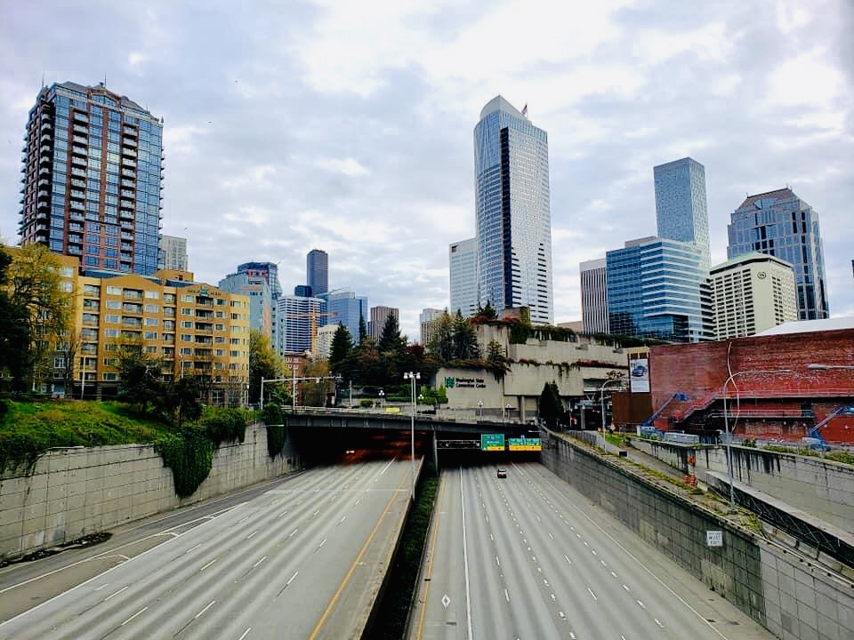 Seattle vazio