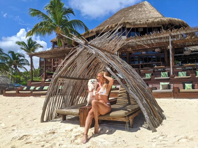 locais para fotos de tulum clubes de praia em áreas de tulum