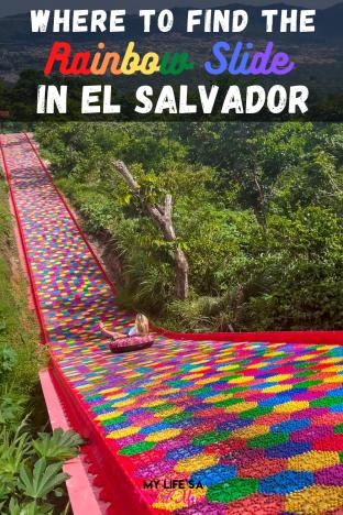 Tudo o que você precisa saber sobre onde encontrar o Rainbow Slide em El Salvador e como planejar uma viagem para lá! Além de atualizações de segurança cruciais e informações sobre os hotéis e BnBs mais fabulosos para se hospedar em El Salvador!