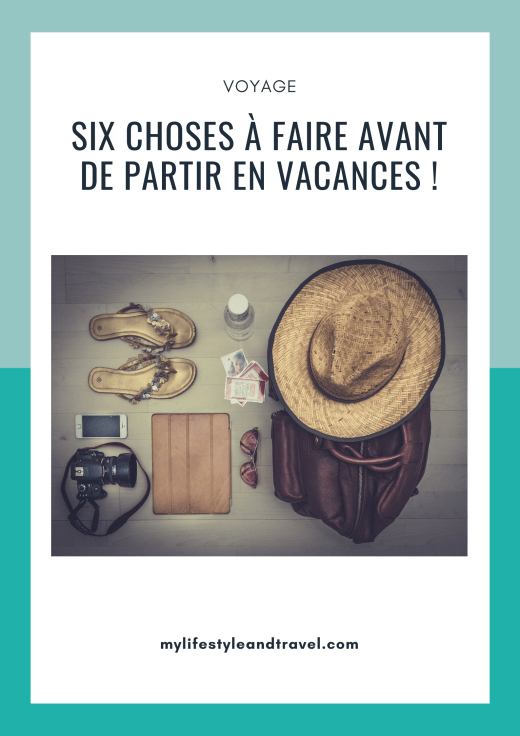 choses à faire vacances