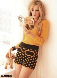 Blake Lively for Glamour Magazine