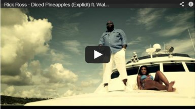 """Rick Ross ft. Wale """"Diced Pineapples"""" Video"""