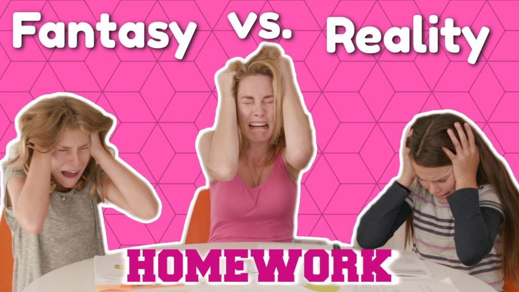 Homework   Fantasy Vs. Reality