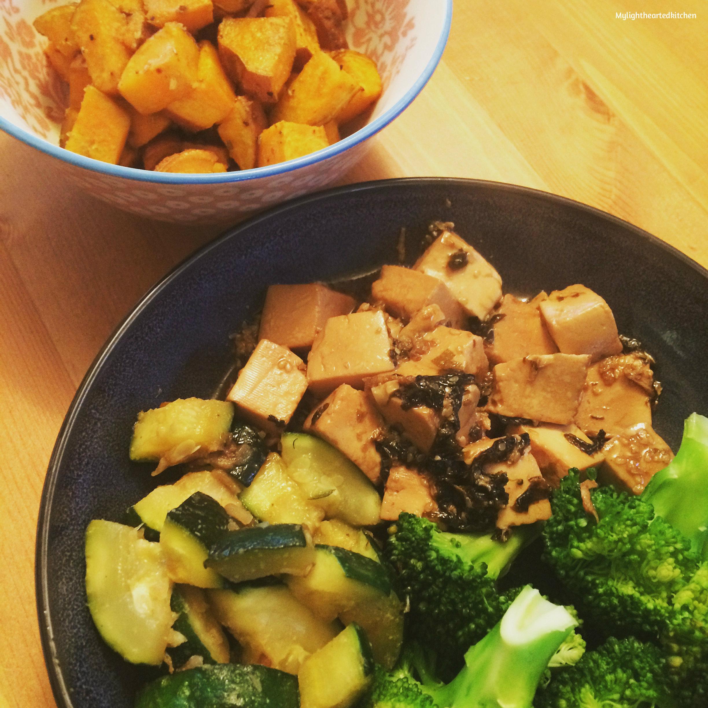 Soft marinated tofu \\ Tofu soyeux mariné