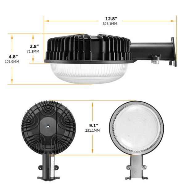 LED Barn Light size