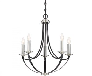 Quoizel Lighting ANA5005K Alana 6 light Chandelier