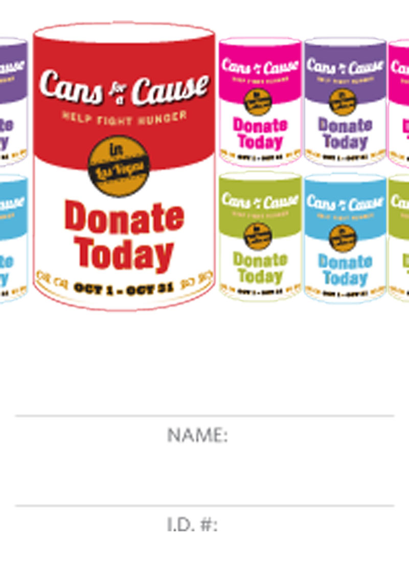 Cans for a Cause Raffle Ticket