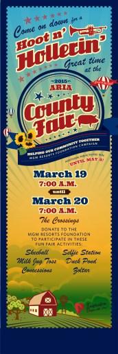 Foundatio ARIA County Fair 2x6 2-15