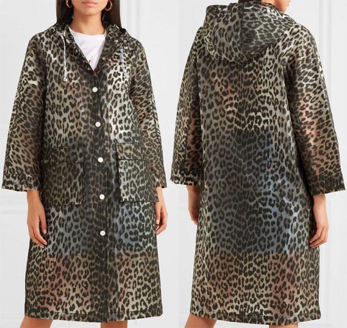 Light Leopard Cloak
