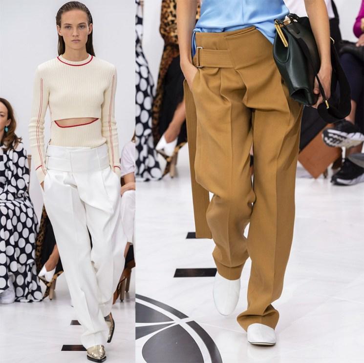 Ассиметричные брюки 2019