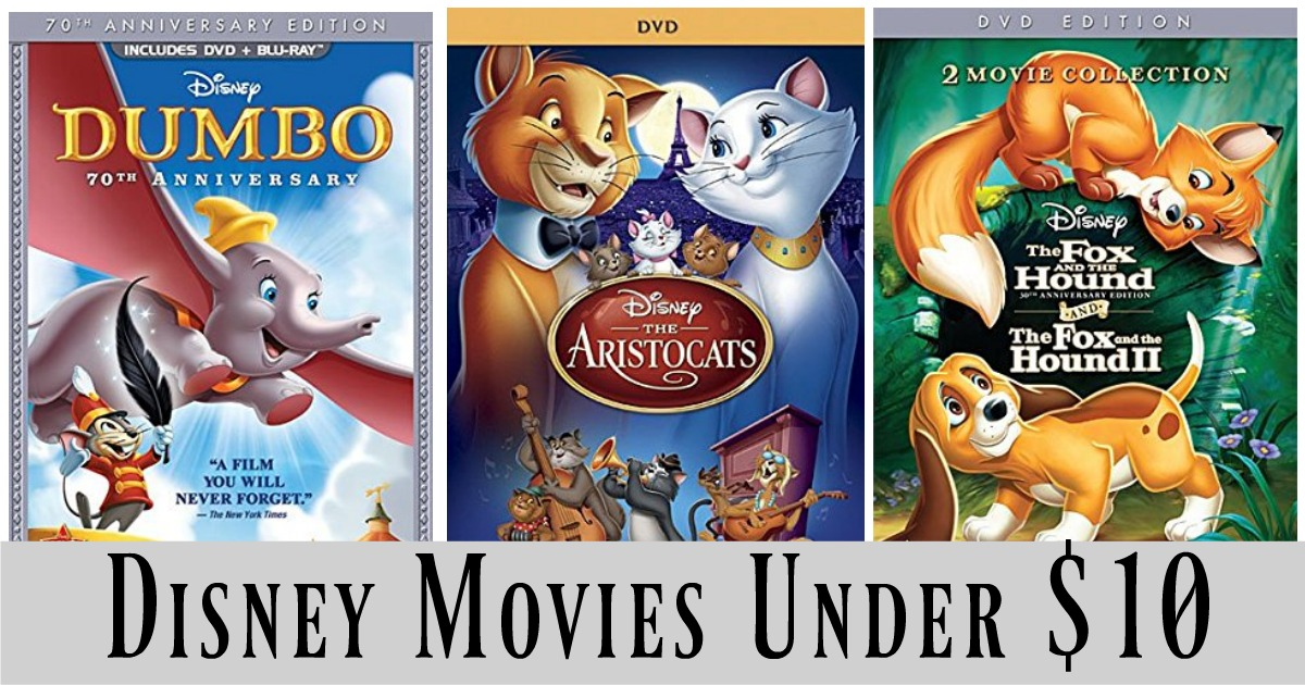 Classic Disney Movies Under 10 MyLitter One Deal At A