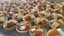 Pumpkin feta tart