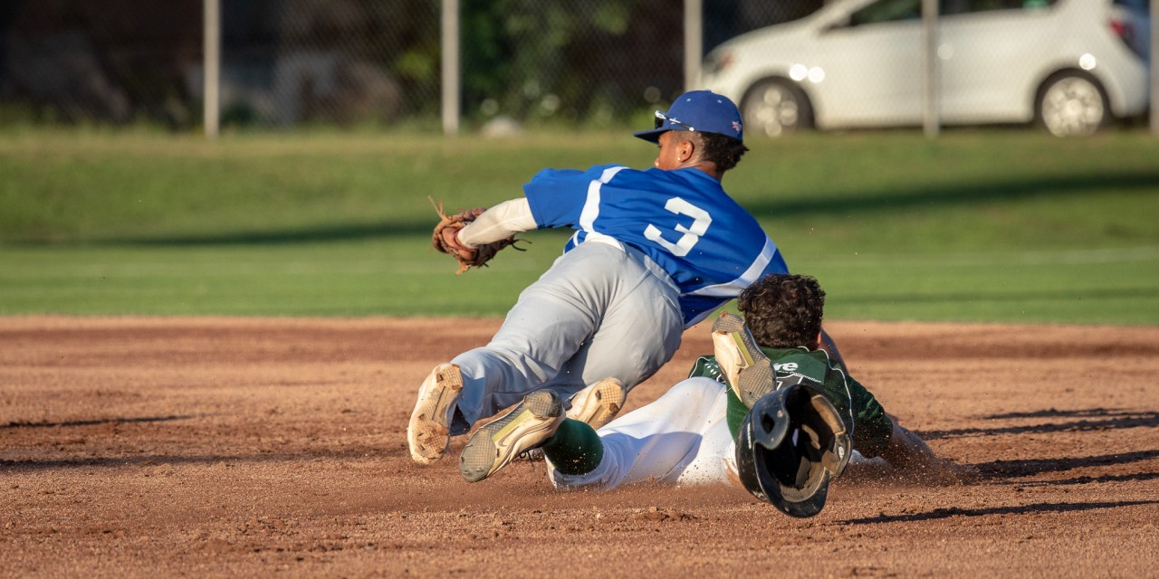 Diamond Dawgs Edge Blue Sox, 12-8 in Slugfest