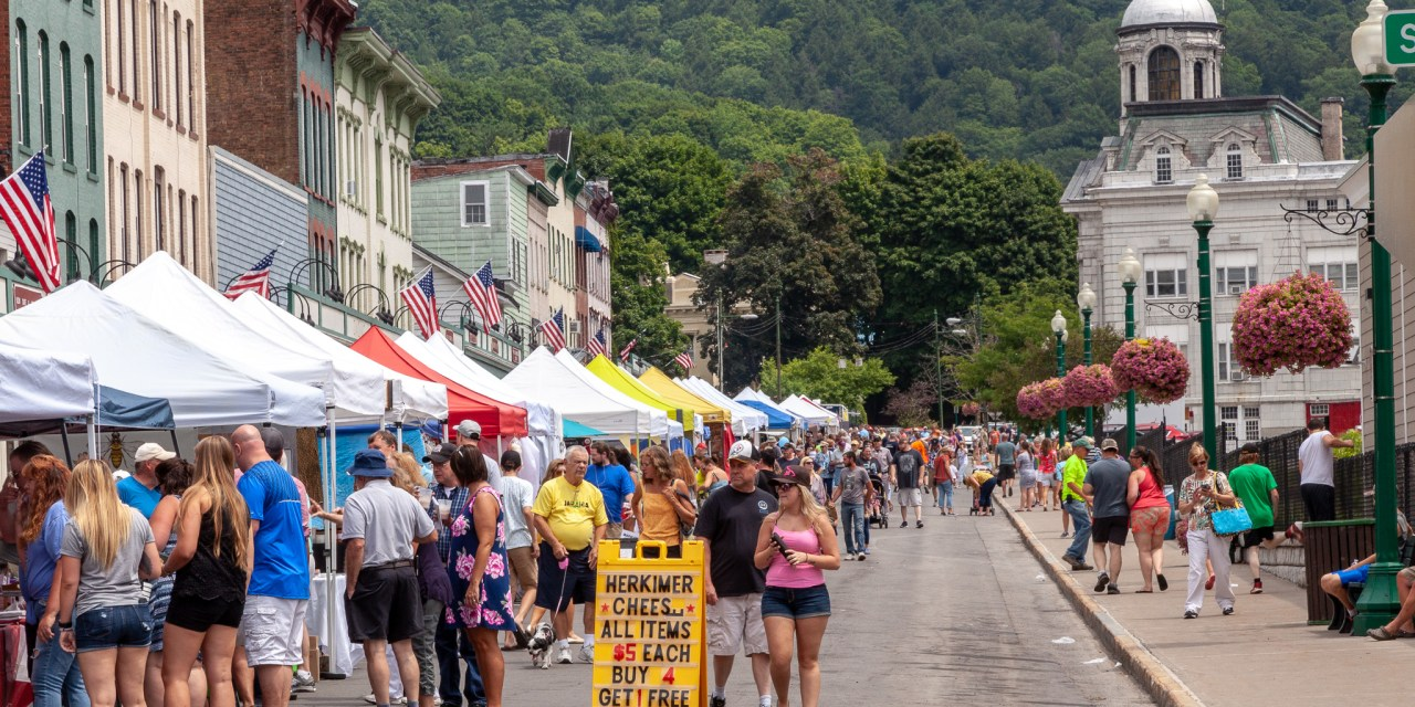 Images of the 2018 Little Falls Cheese Festival