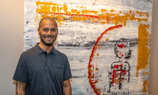 Artist John Milo Rose holds opening reception at the Library