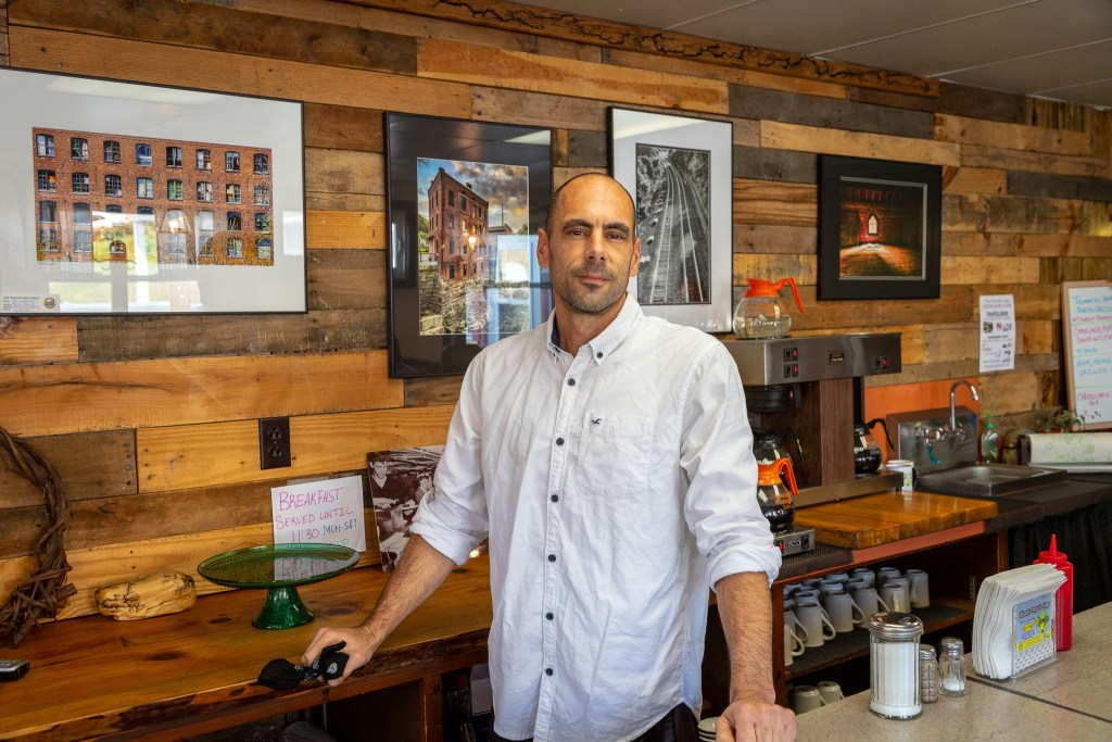 Gary Bowman, owner of That Little Place on Main.
