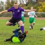 Mounties post another win with penalty kick