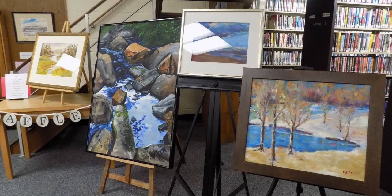 Art Raffle to Benefit the Little Falls Public Library