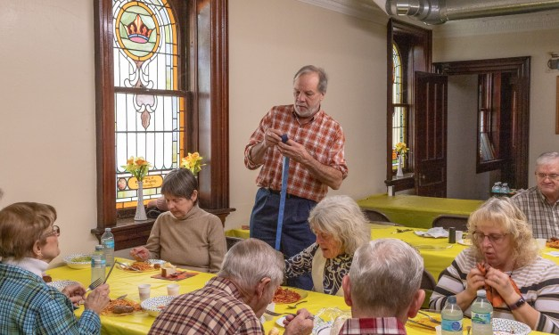 Spaghetti dinner a treat for parishioners