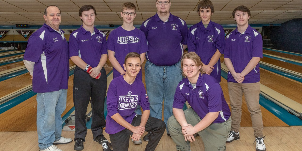 Mounties clinch second consecutive title in bowling