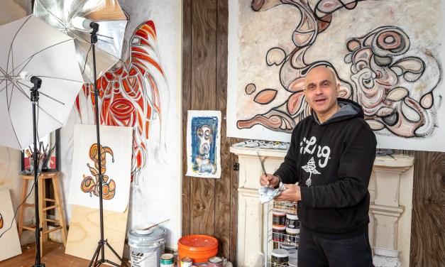 Globe trotting artist picks Little Falls for new studio