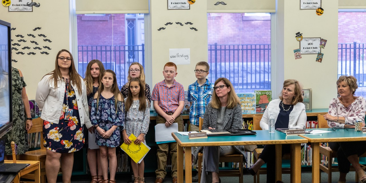 School Board gets presentation from students