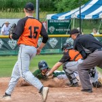 Wosleger Comes Up Big in Diamond Dawgs' Narrow Victory over Oneonta