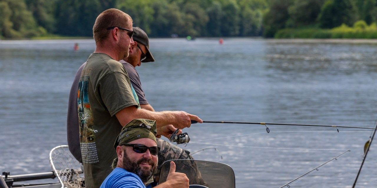 Winners announced in Big Kids adult fishing derby
